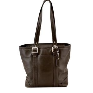 Coach Hampton Satchel Tote F11201